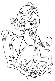 Precious Moments Easter Coloring Pages – Happy Easter 2017