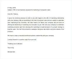 Sample Business Proposal Letter To Download How Make For Services