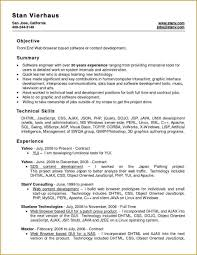 Resume Layout Examples Perl Script Template Write Happy Ending 94