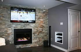 install gas fireplace in basement ideas