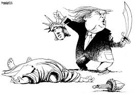 Image result for trump as an orange rat cartoon