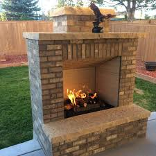 outside wood burning fireplace wood burning fireplace insert with gas starter