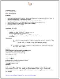 cv format for software engineer resume samples for software engineers