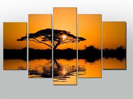 cheap framed canvas wall art