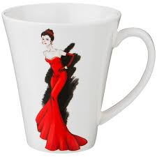 """Кружка 440 мл """"<b>Fashion Queen</b> /В красном <b>платье</b>"""" / 190521 ..."""