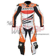 honda repsol motogp 2016 motorbike racing leather suit mrls1018