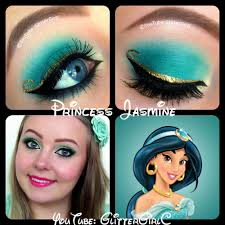 disney princess jasmine makeup