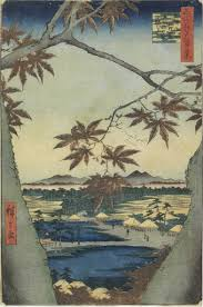 The <b>maple leaves</b> of Mama, Tekona shrine and Tsugi bridge ...