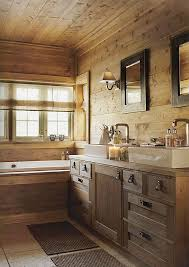 Rustic Bathroom Design New Decorating