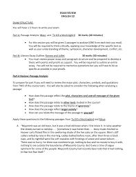 Part A Passage Analysis Maus And To Kill A Mockingbird 30