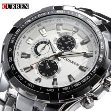 online get cheap men luxury watch aliexpress com alibaba group 2017 brand luxury full stainless steel watch men business casual quartz watches military wristwatch waterproof relogio new