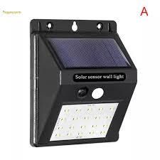 Đèn Năng Lượng Mặt Trời Sạc LED Cảm Ứng Chống Nước Đèn Khẩn Cấp Gắn Tường  Ngoài Trời Sân Vườn Pingyang