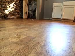 incredible ideas cork flooring basement image of vinyl plank basement