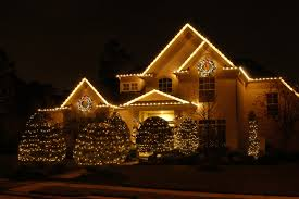 Exterior  Outdoor Home Lights Ideas Led Chain Lights Surround The - Hanging exterior lights