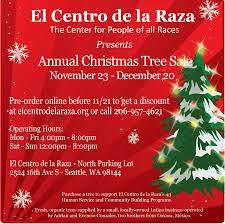 Christmas Tree Sale at El Centro de la Raza