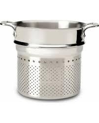 all clad pasta pot. All Clad Pasta Strainer Insert Pot