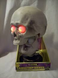 skull animated rite aid home light up sound effect tabletop new in box