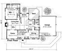 saltbox house plans. Colonial Saltbox House Plan 20136 Level One Plans #