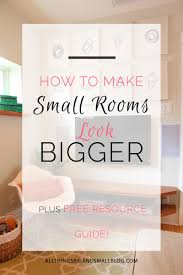 How To Make A Small Bedroom Look Bigger How To Make A Room Look Bigger