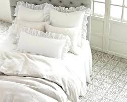 pine cone hill bedding linen gauze shams pillow and by white bed