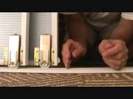how to keep your sliding glass closet door wheels on track ready for the next haul you