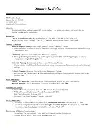 Orthopedic Nurse Sample Resume Fascinating Nursing Resume Examples For Medical Surgical Unit And Med Nurse