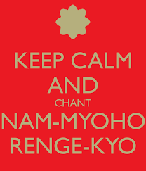 chanting nam myoho renge kyo why it works