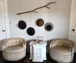 wall mounted branch hat racks