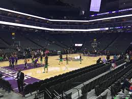 Golden 1 Center Section 123 Sacramento Kings