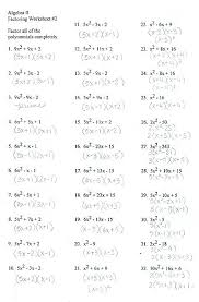 5x 2 9x 2 math factoring polynomials worksheet with answer key math calculator soup