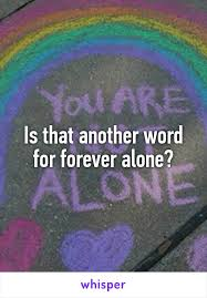 Another Word For Violet Is That Another Word For Forever Alone