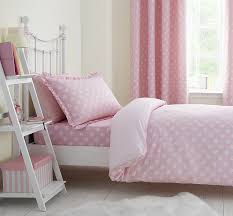 catherine lansfield daisy dreamer single duvet set pink