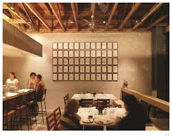 restaurant open kitchen concept. The Restaurant Was Brought To Life Through An Industrial Open Kitchen  Concept That Draws On The Use Of Utilitarian Materials. Precise Elements Such Thin