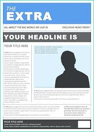 Basic Newspaper Template Useful Old Newspaper Template Word For Printable Templates Free