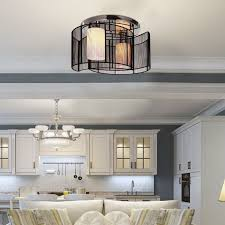 homcom chandelier Φ40x25h cm chrome