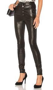 j brand natasha sky high leather skinny pants black