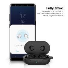 Vỏ Bảo Vệ Hộp Sạc Tai Nghe Bluetooth Samsung Galaxy Buds Plus Bằng Silicon  - Tai nghe Bluetooth nhét Tai