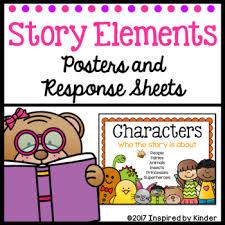 Story Elements Kindergarten Anchor Chart Story Elements Kindergarten
