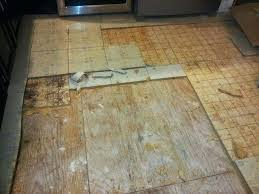 removing linoleum flooring how to remove glue from concrete