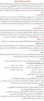 Calories Chart Of Pakistani Food In Urdu Bedowntowndaytona Com