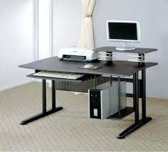 office glass desks. Furniture Computer Desk Also Add Contemporary Modular Intended For Office  Glass Desks Home Office Glass Desks