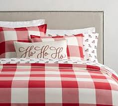 red and white bedding.  Red Buffalo Check Duvet Cover U0026 Sham  CherryIvory  To Red And White Bedding D