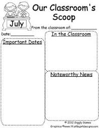Teachers Newsletter Templates Pre K Newsletter Templates For Free Yupar Magdalene