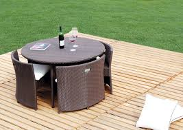 space saving patio furniture. Shopping Guide: 10 Space-Saving Outdoor Dining Tables Space Saving Patio Furniture D