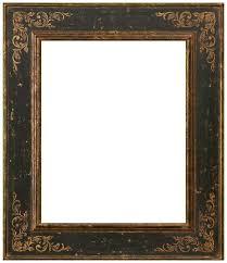 black antique picture frames. Vuitton Black \u0026 Gold Stencil Leaf Frame Wide Black Antique Picture Frames M