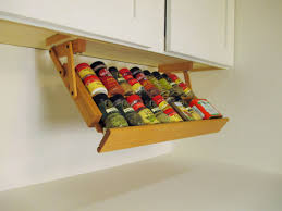 Kitchen Spice Rack Kitchen Kitchen Cabinet Spice Rack Also Imposing Kitchen Cabinet