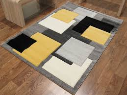starting at 112 50 75 00 save 33 off tempo square rug black yellow