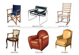 furniture examples. Examples Of Armchairs Furniture Visual Dictionary Online