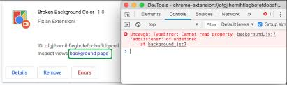 Debugging Extensions - Google Chrome