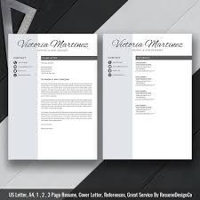 Instant Download The Victoria Resume Resumedesignco Com
